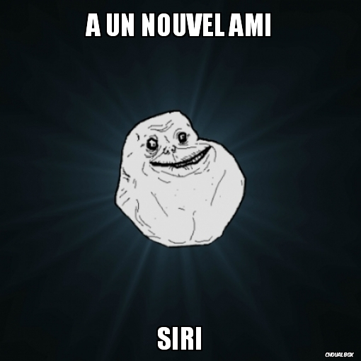 Forever alone lvl apple