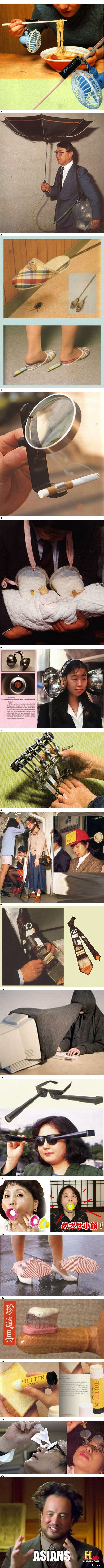 Les inventions japonaises les plus ridicules #2