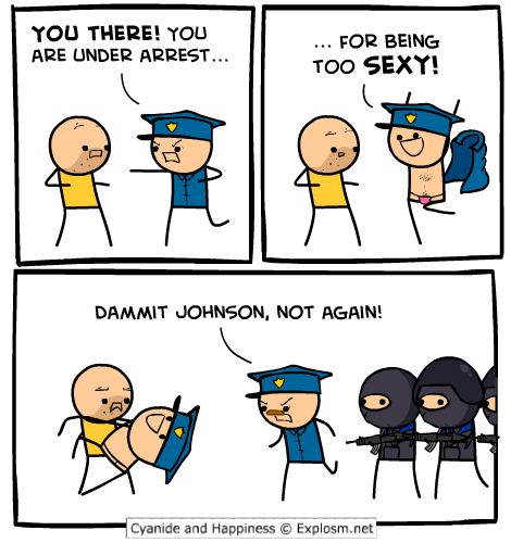 Johnson arrested you