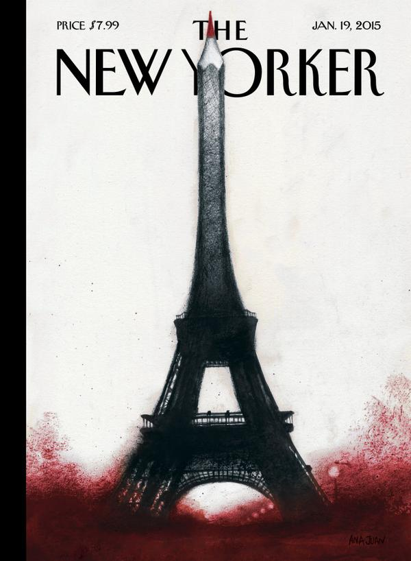 "Couverture de ""The New Yorker"" du 19 Janvier"