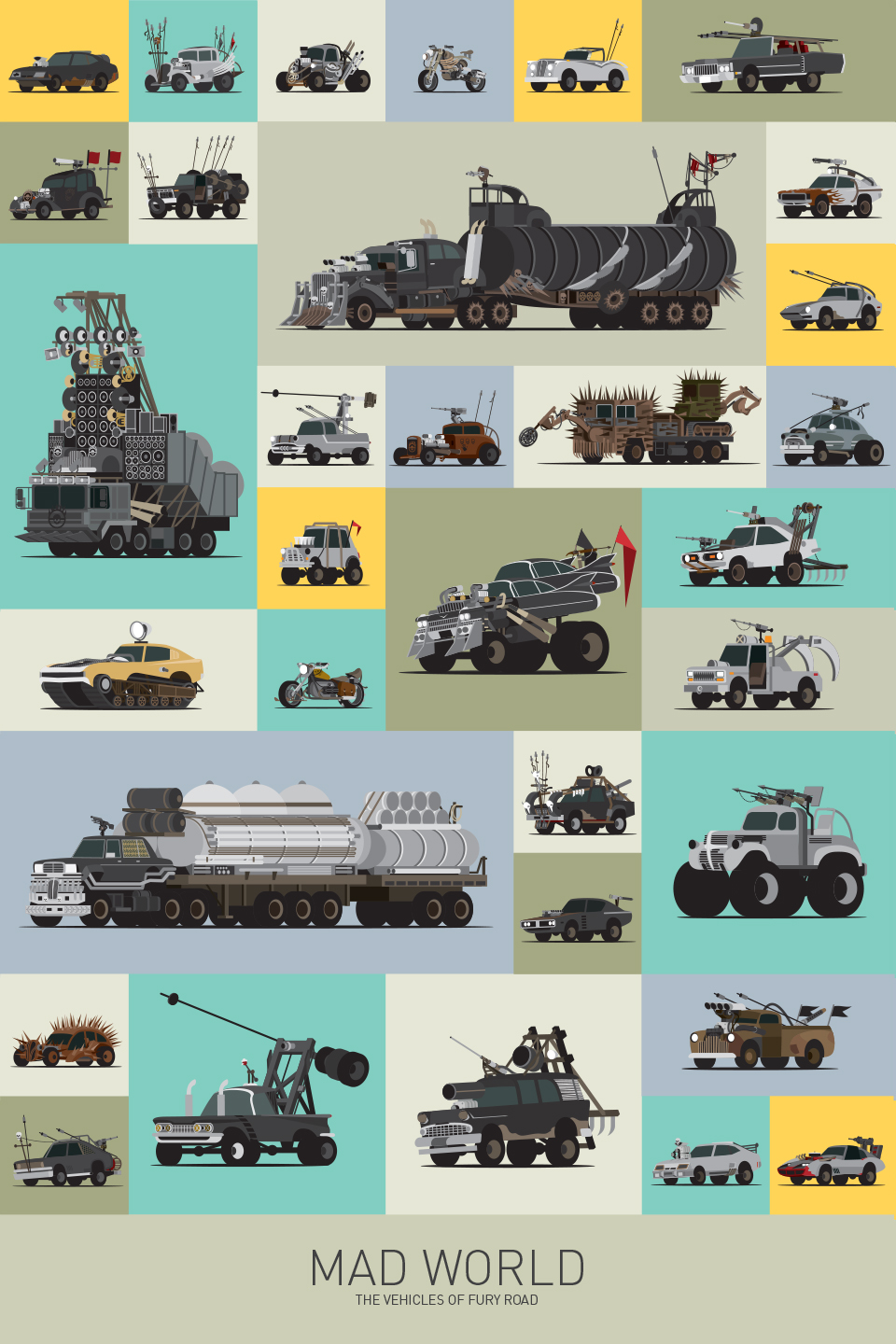 Mad World – The Vehicles of Fury Road