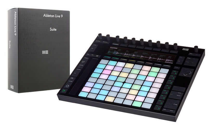 Ableton Push 2 + Live Suite 9.5