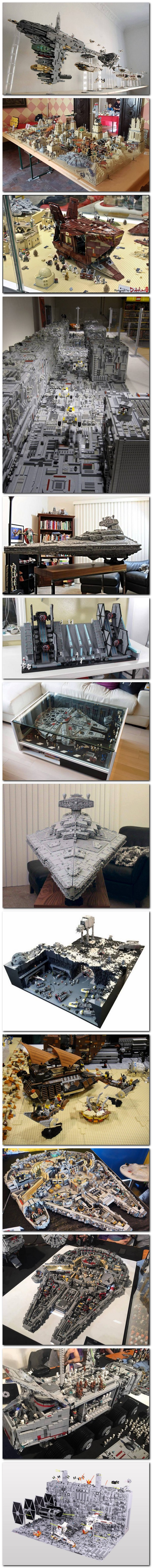 Quelques Dioramas Star Wars
