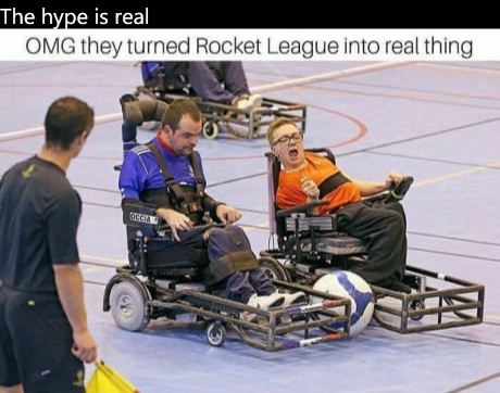 Premiere image du Film Rocket League