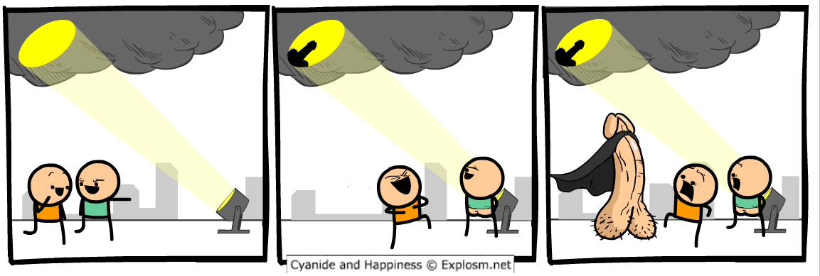 Cyanide et Happiness - Super Penis
