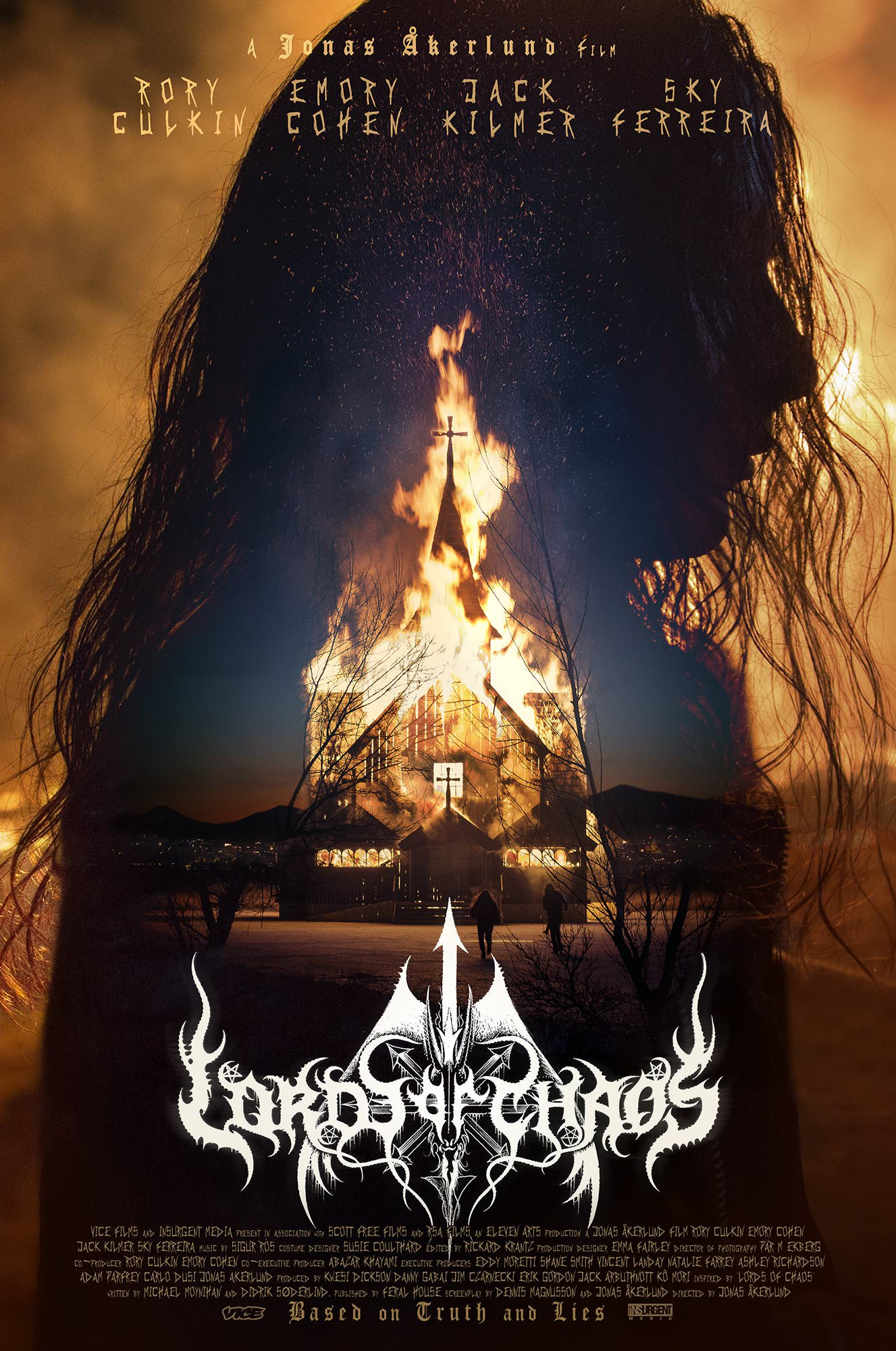 Le poster de Lords of Chaos