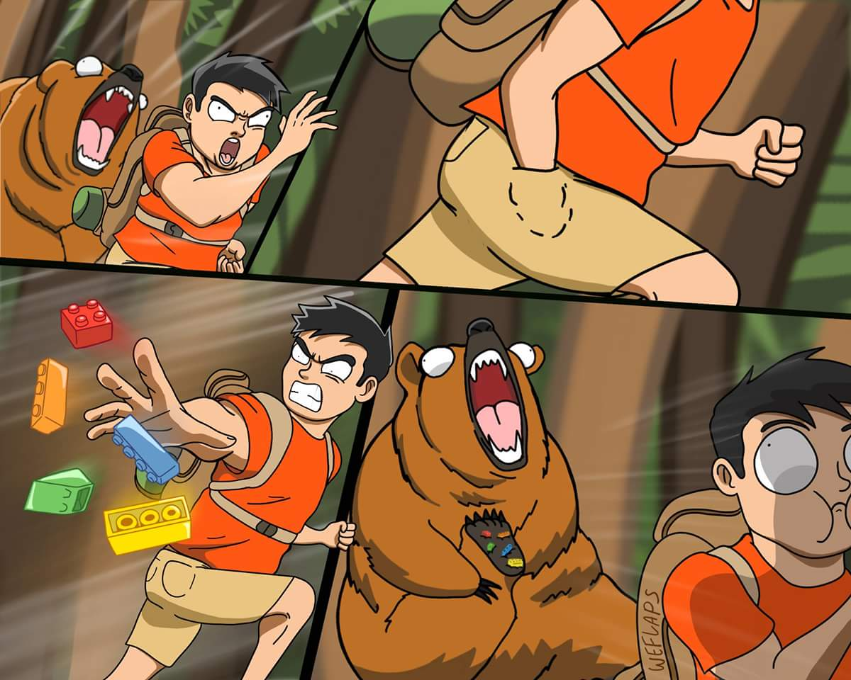 Bear vs Bear Grylls
