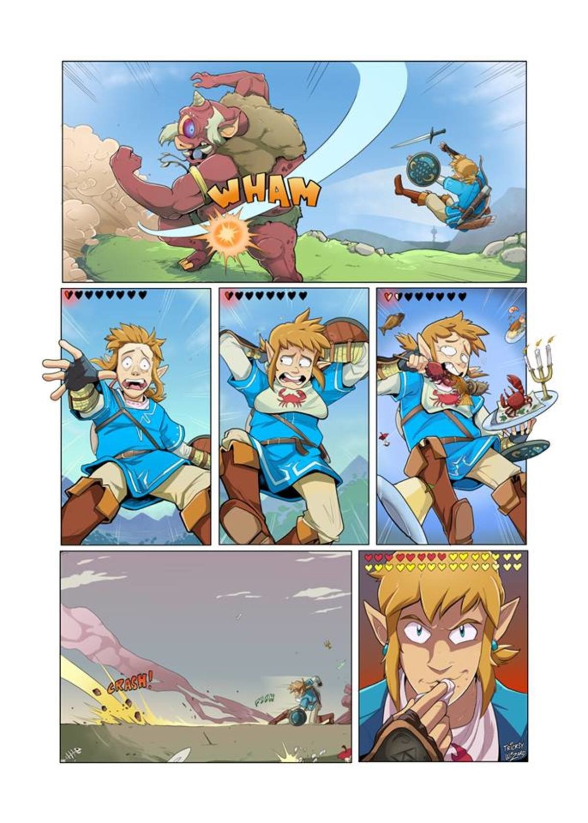 La logique de Breath of the wild
