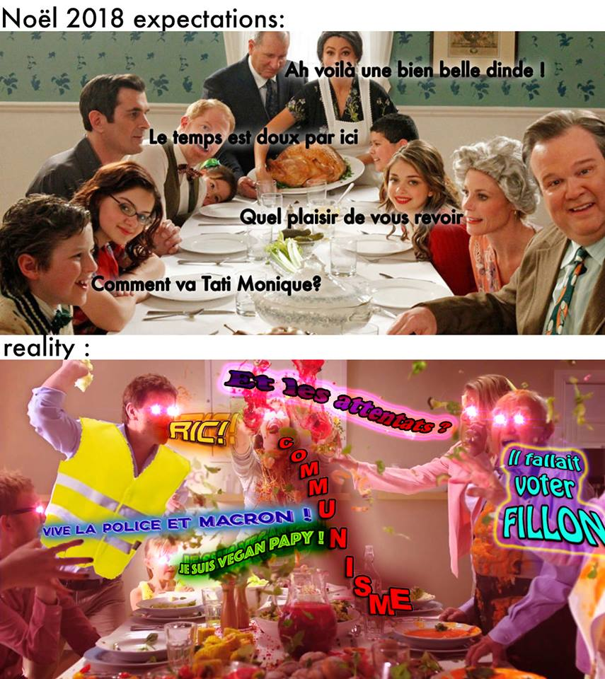 Noël 2018 : Expectations vs reality