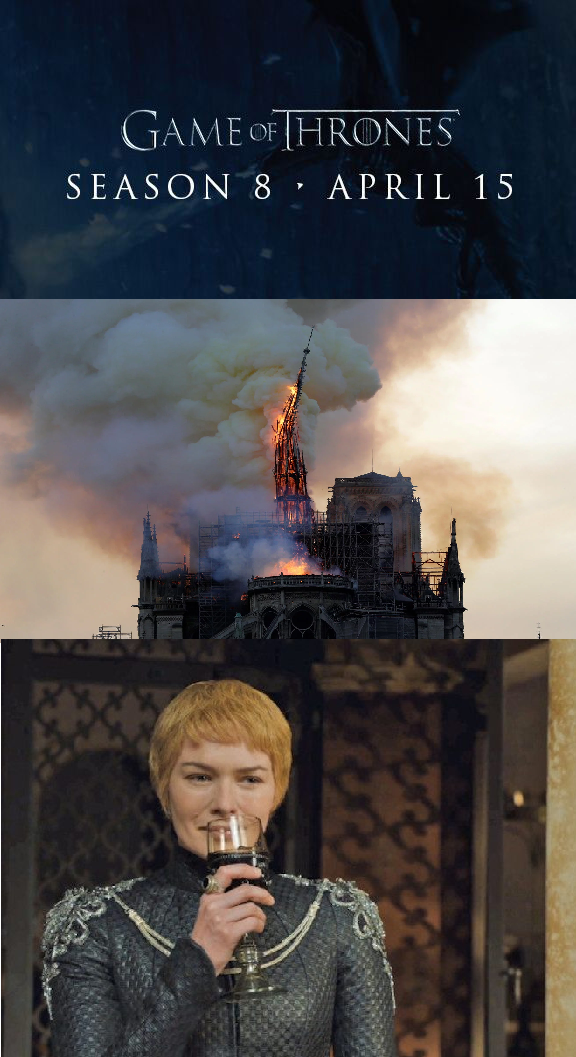 Game of Thrones : Notre Dame