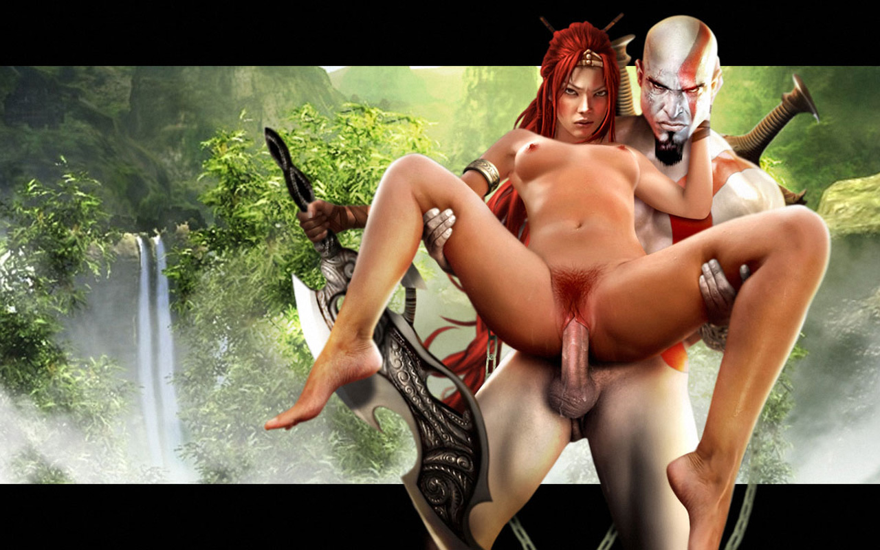 from Braden god of war sex nude
