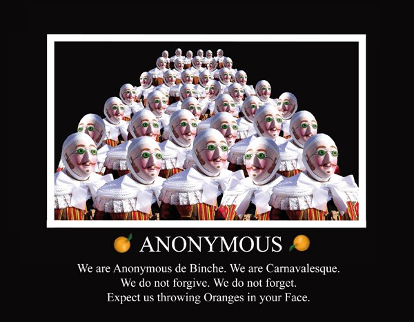 Les Anonymous belge !!