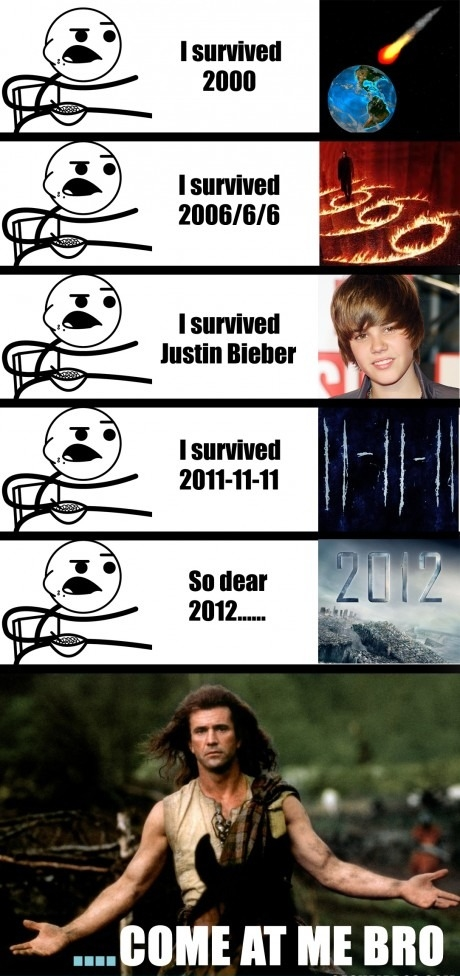 I survived..