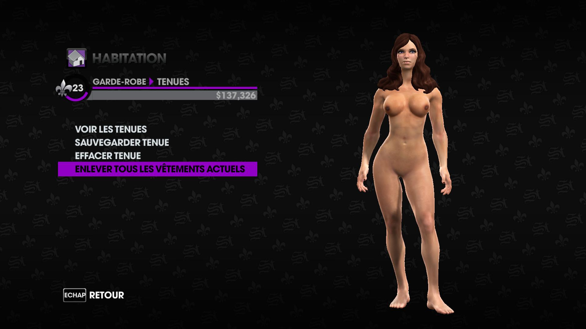 Saint s row the third nude mod porno video