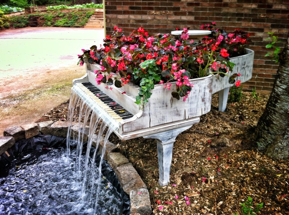 Piano fontaine