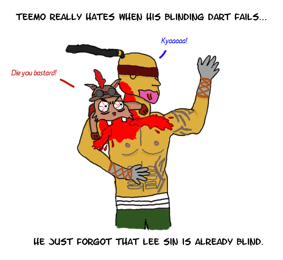 Psycho Teemo vs Lee sin