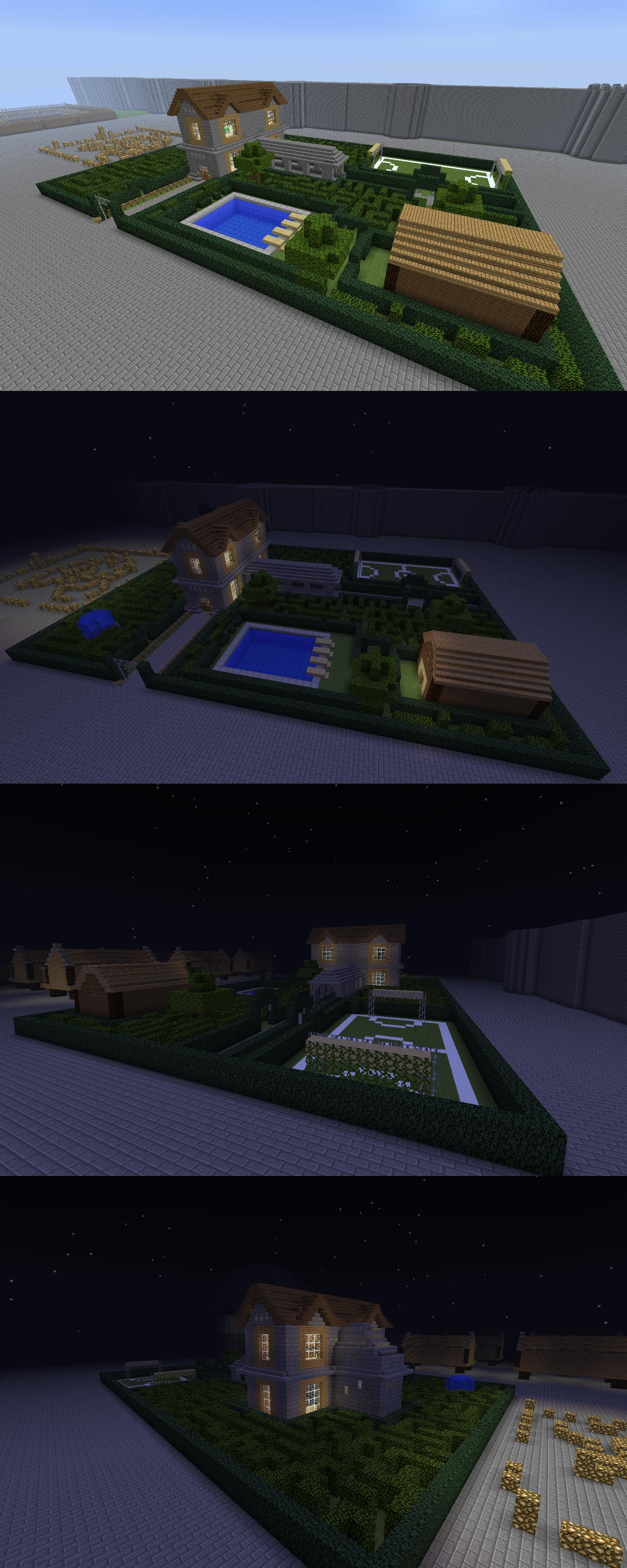 Essai de construction [minecraft,labyrinthe]