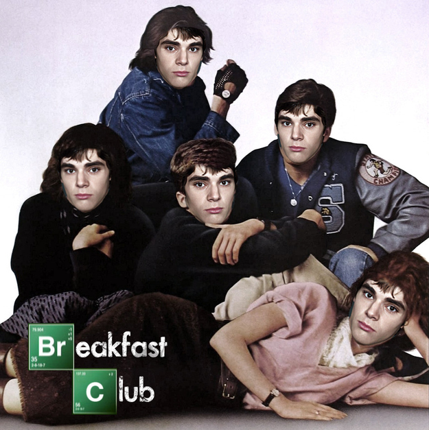 Breakfast Club starring Walt Jr.