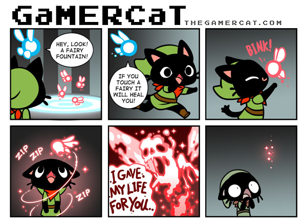 The GaMERCaT - Sacrifice (fée/zelda)