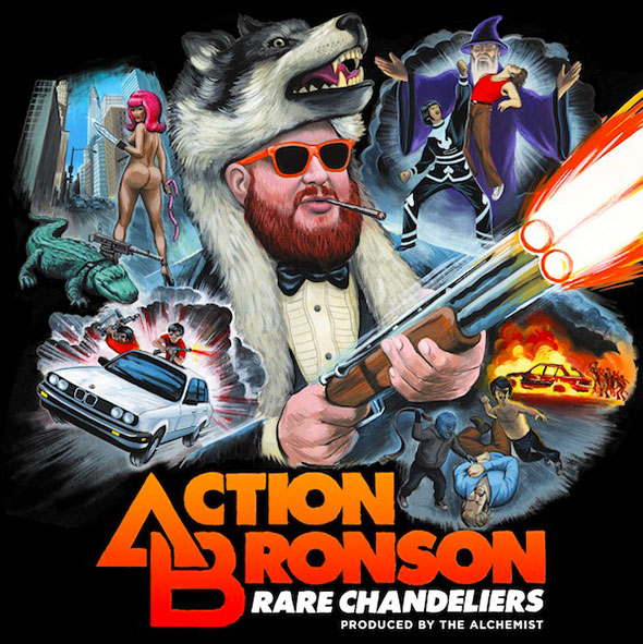 [Mixtape] Action Bronson - Rare Chandeliers