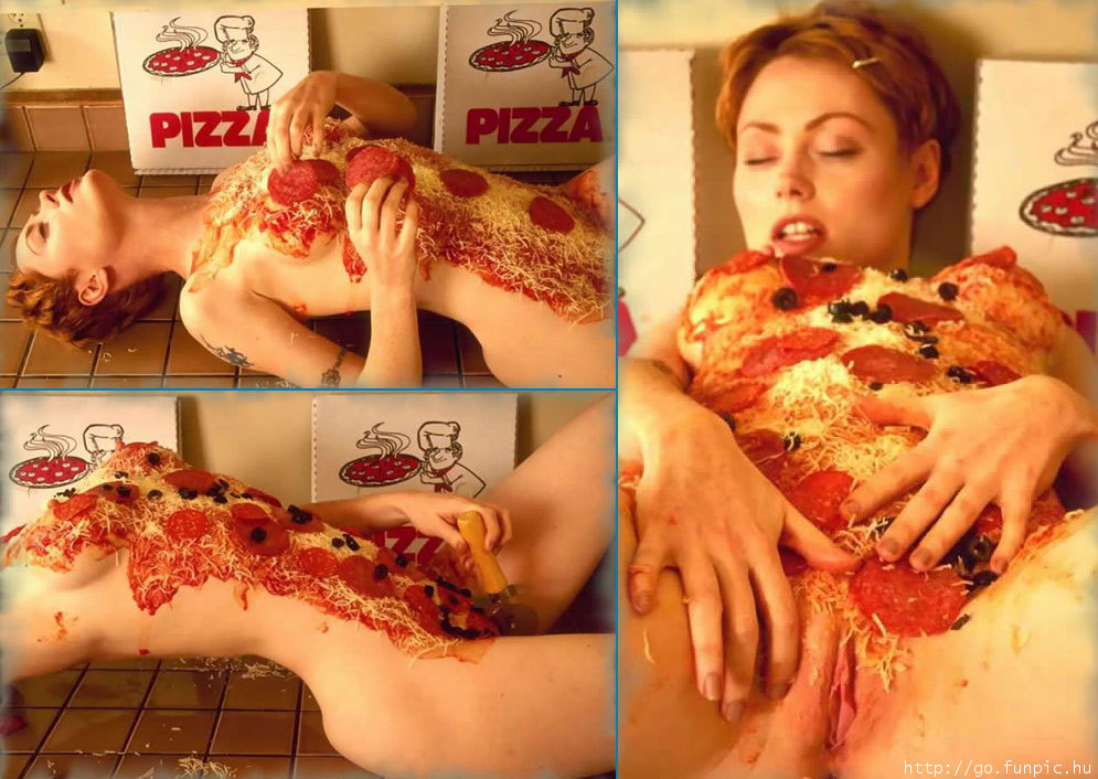 une pizza pepperoni siouplé m'zelle