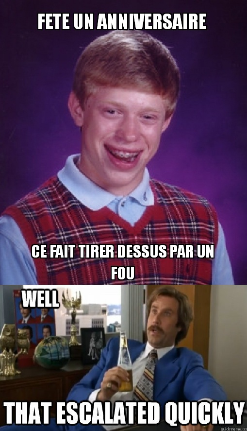 Bad Luck Escalate !