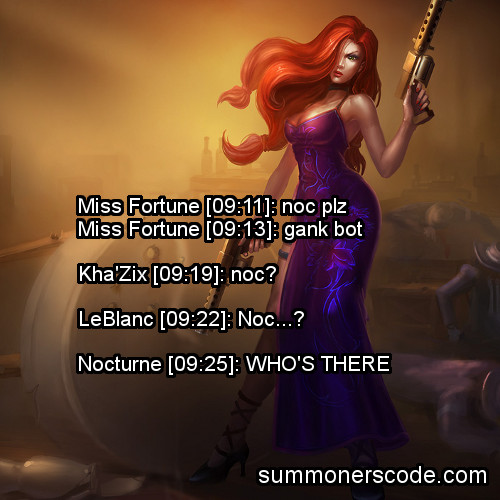 Nocturne plz (summonerscode)