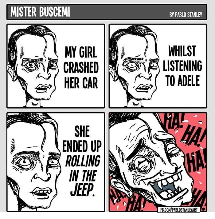 Mister Buscemi - By Pablo Stanley