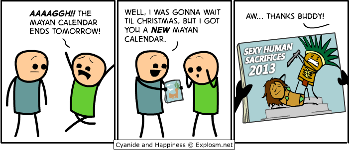 Cyanide and Happiness - Apocalypse Calendar