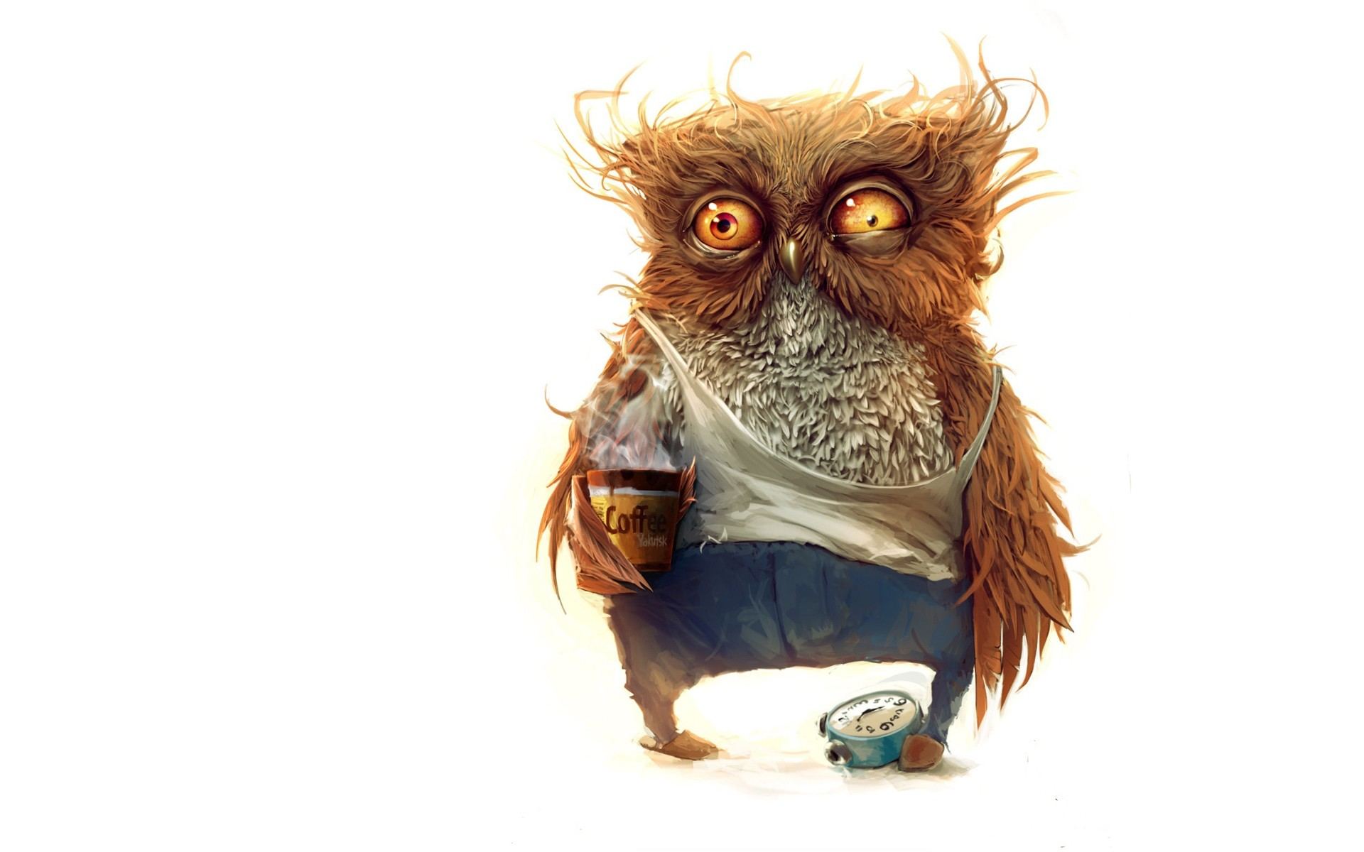 Morning Coffee | Owl