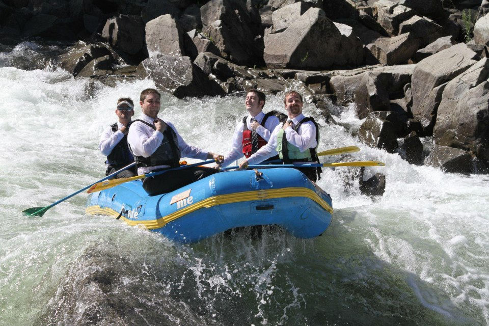 Faire du rafting level: gentleman