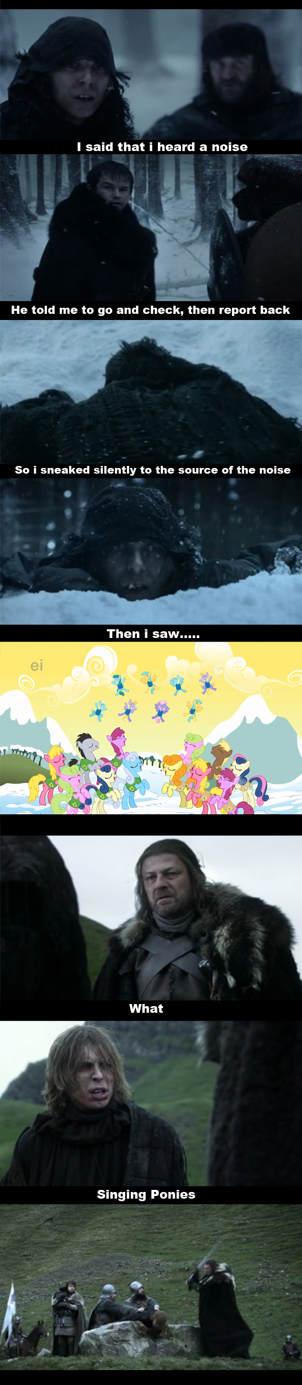 A Game of Ponies #2 - Winter is...?