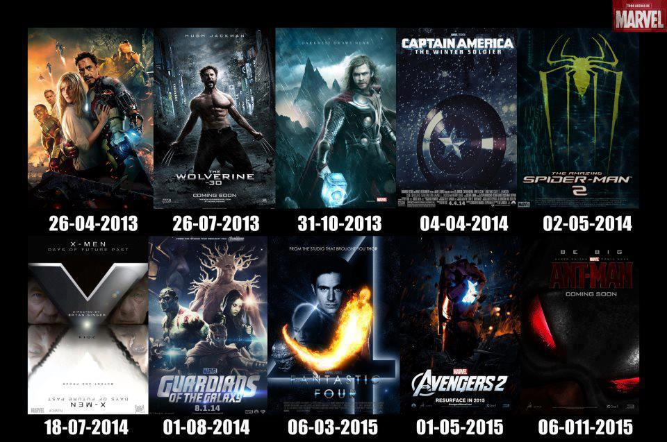 marvel film 2013